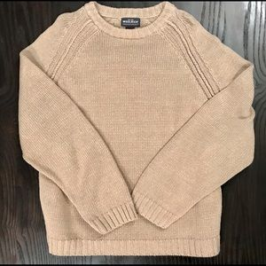 Woolrich Khaki CrewNeck Sweater Men's XL